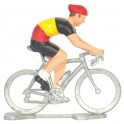 Belgian champion N - Miniature cyclist figurines