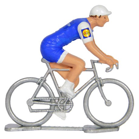Quick Step Floors - Miniature cycling figures