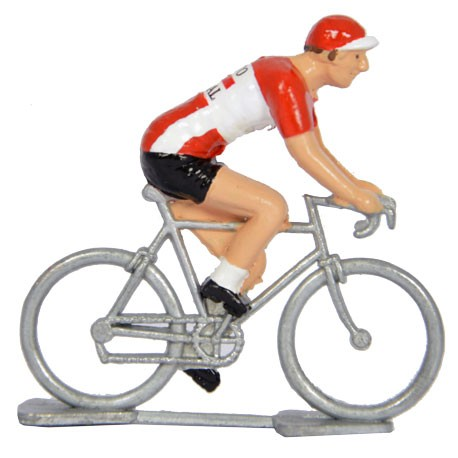 Lotto-Soudal - Figurines cyclistes miniatures