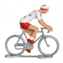 Hearts cyclist - Miniature cyclists