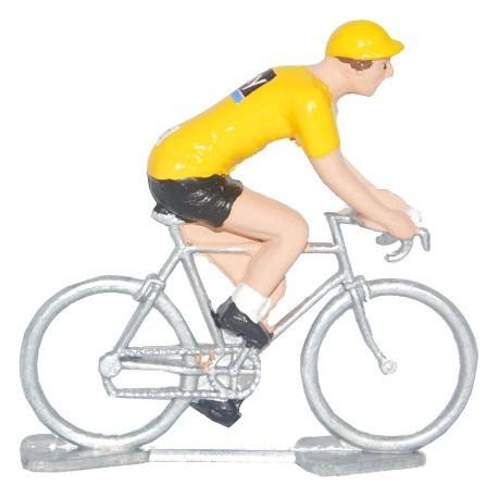 Yellow jersey Sky - Miniature cyclists