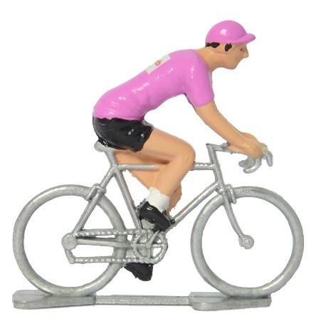 Maillot rose Sunweb - Figurines cyclistes miniatures