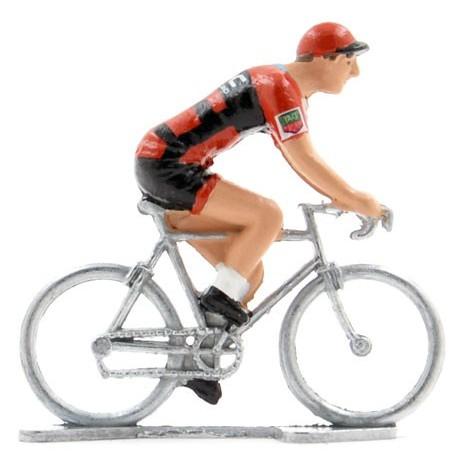 BMC 2018 - Figurines cyclistes miniatures