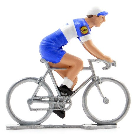 Quick Step Floors 2018 - Figurines cyclistes miniatures