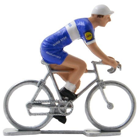 Deceuninck - Quick Step 2019 - Figurines cyclistes miniatures