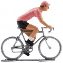Pink jersey - Miniature cycling figures