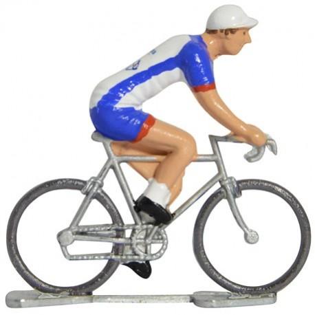 Groupama-FDJ 2019 - Figurines cyclistes miniatures