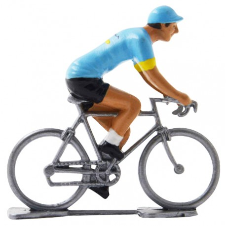 Astana 2019 - Figurines cyclistes miniatures