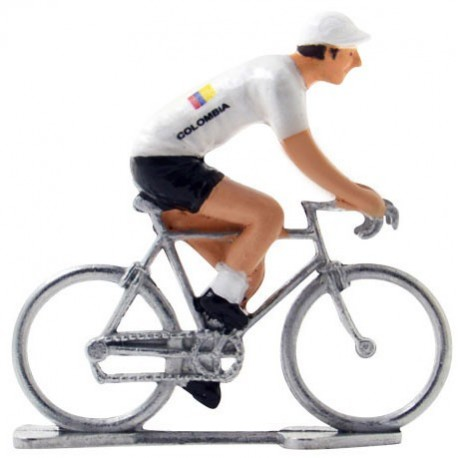 Columbian champion - Miniature cyclist figurines
