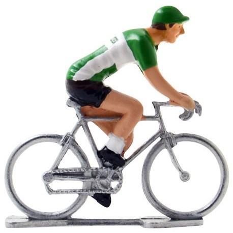 Ireland world championship - Miniature cyclist figurines