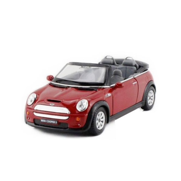 Vehicle Mini Cooper Convertible S Red