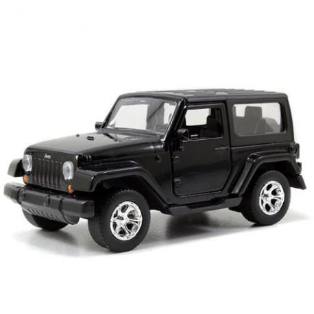 Jeep Wrangler 1:32 Noir - Voitures miniatures