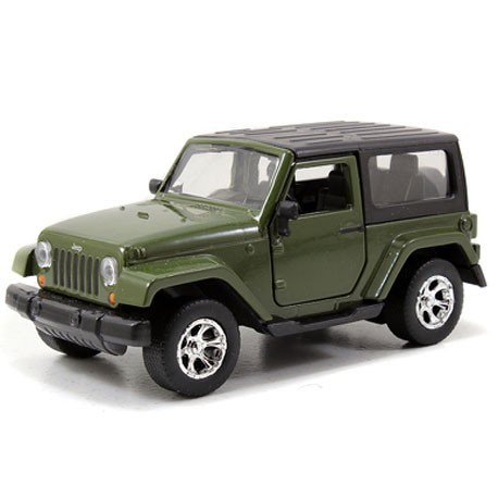 Jeep Wrangler 1:32 Green - Miniature cars