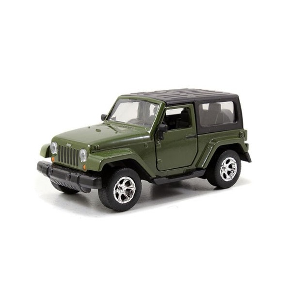 Green Jeep Wrangler >> Vehicle Jeep Wrangler Green Miniature Cars Out Of Metal