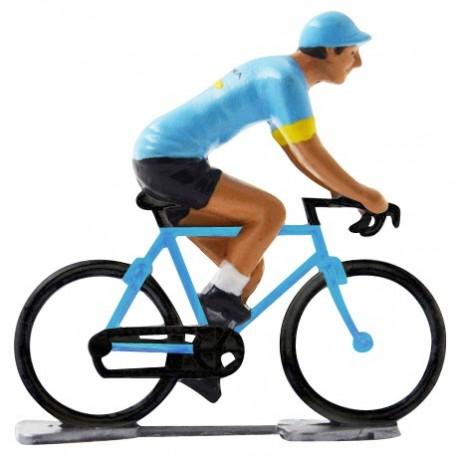 Astana 2019 K-WB - Figurines cyclistes miniatures