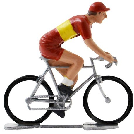 Spanish champion K-W - Miniature cyclist figurines