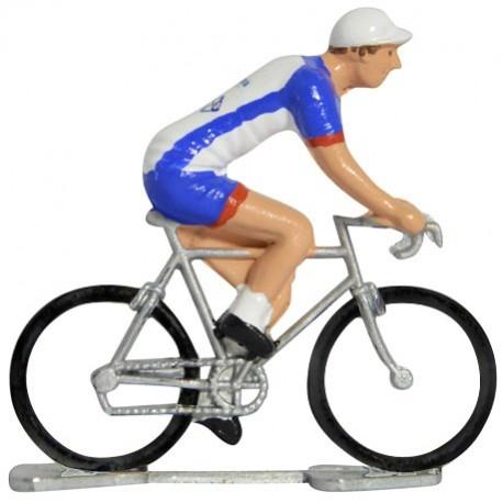 Groupama-FDJ 2019 K-W - Figurines cyclistes miniatures