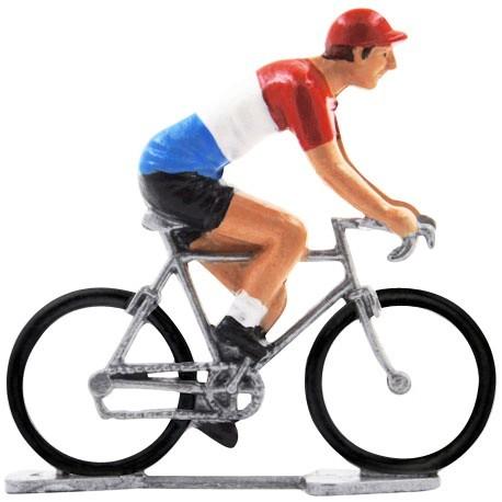 Duch champion K-W - Miniature cyclist figurines