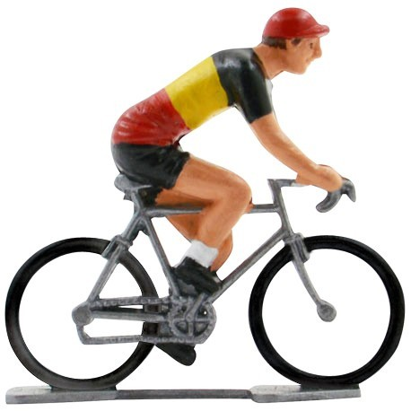 Belgian champion K-W - Miniature cyclist figurines