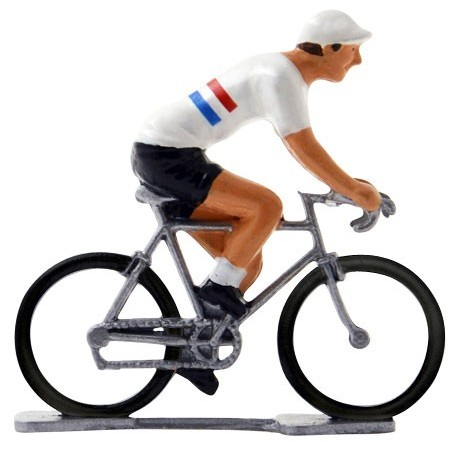 British champion K-W - Miniature cyclist figurines