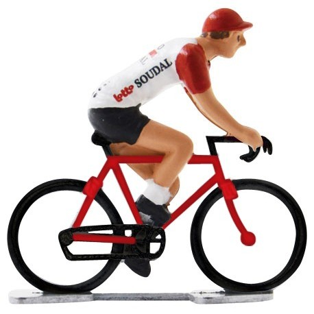 Lotto-Soudal 2019 K-WB - Figurines cyclistes miniatures