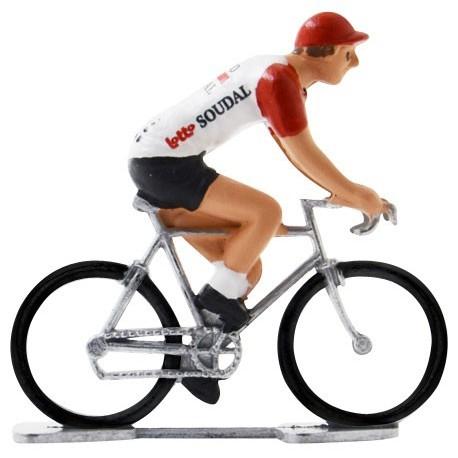 Lotto-Soudal 2019 K-W - Miniature cycling figures