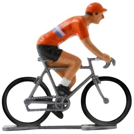 Holland World championship K-W - Miniature cyclist figurines