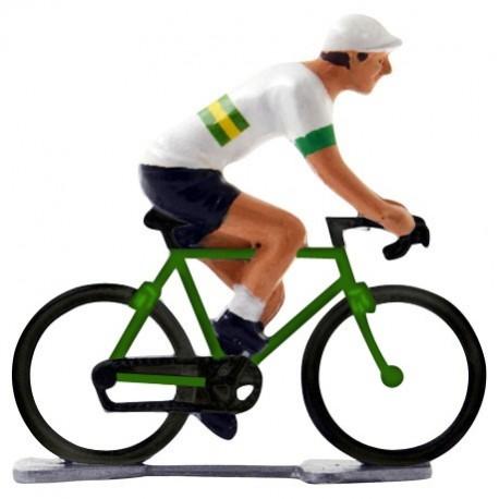 Australian champion K-WB - Miniature cyclist figurines