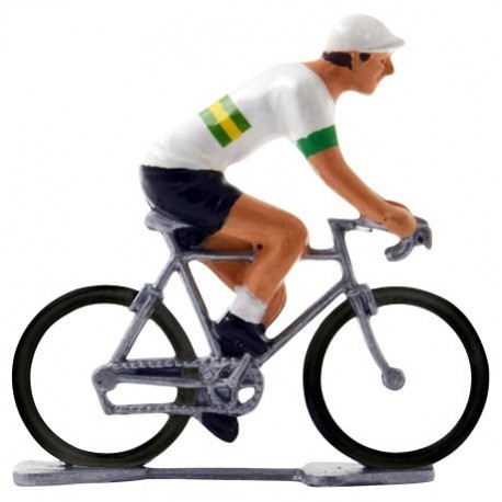 Australian champion K-W - Miniature cyclist figurines