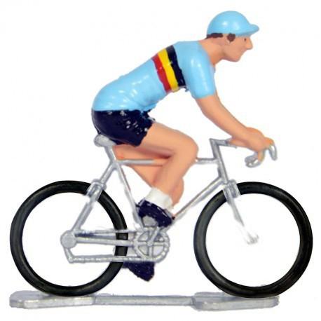 Belgium world championship K-W - Miniature cyclist figurines