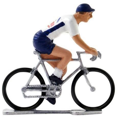 Great-Britain world championship K-W - Miniature cyclist figurines