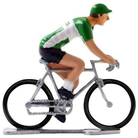 Ireland world championship K-W - Miniature cyclist figurines