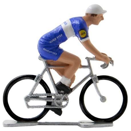 Deceuninck - Quick Step 2019 K-W - Figurines cyclistes miniatures