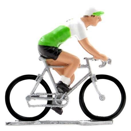 Dimension Data 2019 K-W - Figurines cyclistes miniatures
