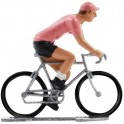 Pink jersey K-W - Miniature cycling figures