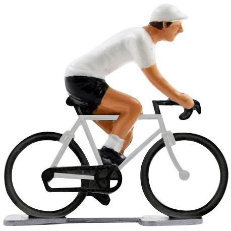 Witte trui K-WB - Miniatuur wielrennertjes