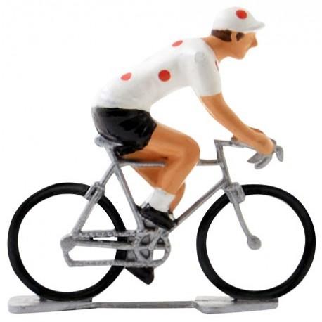 Polka-dot jersey K-W - Miniature cyclists