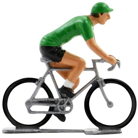 Maillot vert K-W - Cyclistes figurines