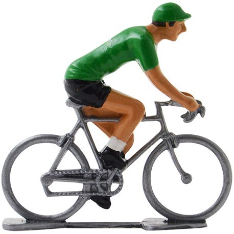 Miniature cycling figures