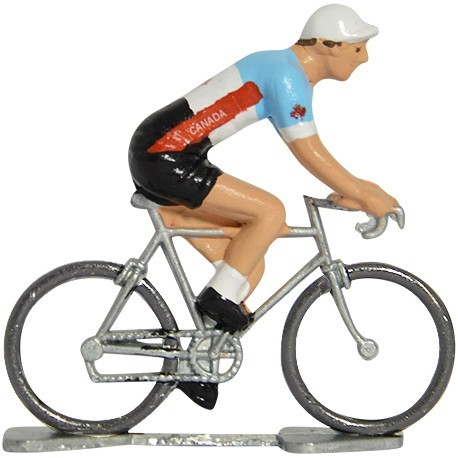 Canada world championship - Miniature cyclist figurines