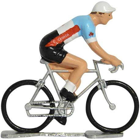 Canada world championship K-W - Miniature cyclist figurines
