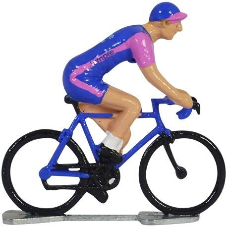 Lampre K-WB - Miniature racing cyclists