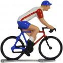 Cofidis K-WB - Miniature racing cyclists