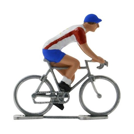 Cofidis - Miniature racing cyclists