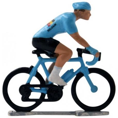Belgium world championship H-WB - Miniature cyclist figurines