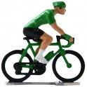 Green jersey HD-WB - Miniature cyclists
