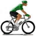 Green jersey HD-W - Miniature cyclists