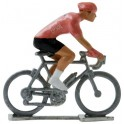 Pink jersey HD - Miniature cycling figures