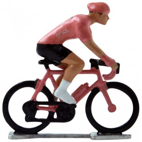 Maillot rose H-WB - Figurines cyclistes miniatures