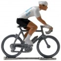 White jersey HD - Miniature cyclists